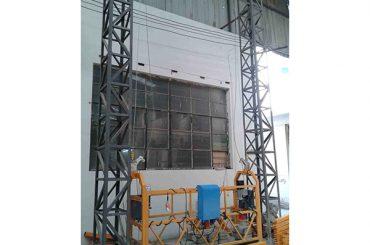 10m angetriebene Aluminiumseil verschobene Plattform zlp1000 einphasig 2 * 2.2kw