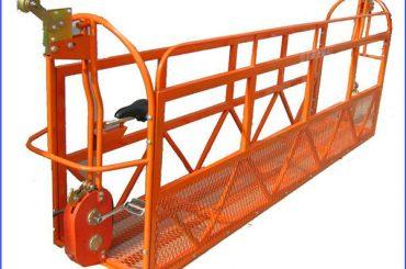 1000 kg 7,5 mx 3 Abschnitte Aluminiumlegierung ausgesetzt Arbeitsplattform zlp1000