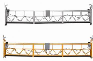 Heiße Verkäufe Aluminiumlegierung verschobene Plattform / verschobene Gondel / verschobene Wiege / verschobene Schwingenstufe mit Form E
