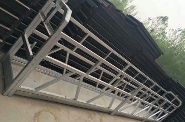 zlp630 / 800 ll Form Aluminiumlegierung, Stahlkonstruktion ausgesetzt Arbeitsbühne Aufzug auf Gebäude Windows