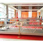 zlp630 aluminium hängenden Plattform (ce iso gost) / Hochhaus Fensterreinigungsgeräte / provisorische Gondel / Wiege / Schaukel Bühne heiß