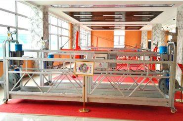 ZLP630 Aluminium-Hängebühne (CE ISO GOST) / Hochhaus Fensterreinigungsgeräte / temporäre Gondel / Wiege / Schaukel Bühne heiß