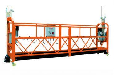 2.5M x 3 Abschnitte 1000kg verschobene Zugangsplattform, die Geschwindigkeit 8-10 m / min anhebt
