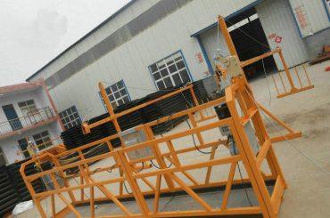 Zuverlässige ZLP630 Malerei Stahl ausgesetzt Arbeitsbühne für den Hochbau (2)