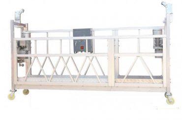 Stahl lackiert / feuerverzinkt / Aluminium abgehängte Arbeitsplattform zlp630 für den Fassadenanstrich