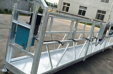 Fensterreinigung zlp630 Seil hängende Plattformgondelwiege mit Hebevorrichtung ltd6.3