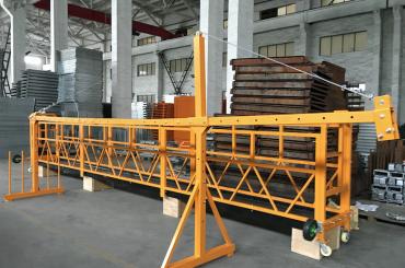 zlp 500 lp 630 vorübergehend aufgehängt Drahtseilplattform für den Bau