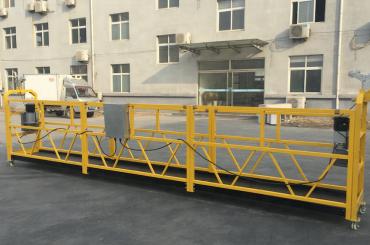 leistungsstarke 6 Meter Seil ausgesetzt Gondel Plattform mit Balkenüberhang