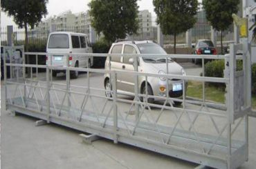 zlp630 Seil verschobene Plattform / elektrische Schwingenbühne / Baugerüst für Fensterreinigungsmaschine