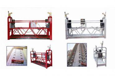 Seil hängen ausgesetzt Zugangsplattform, Aufzug Aufzug Gondel Maschine zlp630