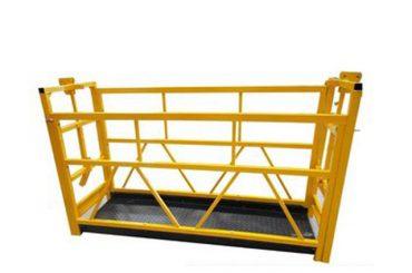 Fensterreinigung-ausgesetzt-Plattform-für-Gebäude-Reinigung