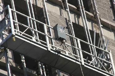 ce genehmigt zlp Serie ausgesetzt Drahtseil Plattform zlp500, zlp630, zlp800, zlp1000
