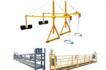 2 * 2.5m Aluminium elektrisches Seil ausgesetzt Plattform mit Motorleistung 1.5kw