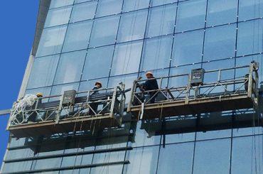 100m - 300m hängenden Zugangsplattformen 220v für Hochhausmalerei
