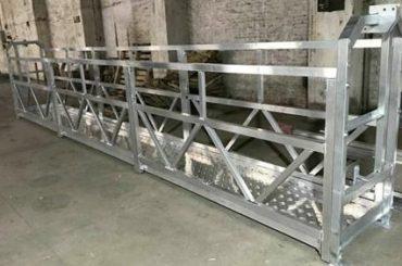 Zlp800 Stahl ausgesetzt Arbeitsplattform 380v 3 Phasen für die Außenwand Reinigung