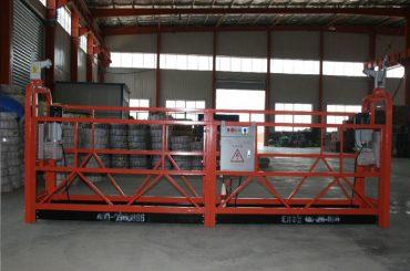 Aluminiumlegierung / Stahl / feuerverzinkt Hängezugangsausrüstung zlp630