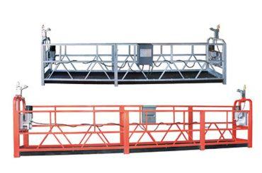 10m stahl / aluminium hängenden zugang ausrüstung zlp1000 für 3 person arbeiten