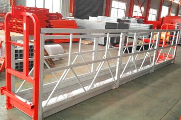 Hängegerüste aus Aluminiumlegierung 1000 kg 2,2 kw für die Fensterreinigung