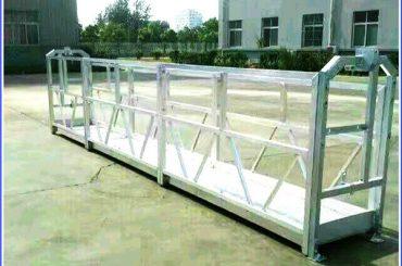 Arbeitsbühnen aus Stahl / Aluminium mit Sicherheitsschloss der Serie SAL