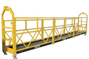 kundengebundene zlp1000 hängende Zugangsplattform-Wartungswiege mit Stahlseil 8.6mm