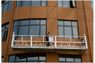 zlp630 Fensterreinigung Seil ausgesetzt Plattform