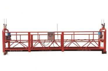 Stahl / feuerverzinkte zeitweilige verschobene Plattform, zlp500 Wartungswiege