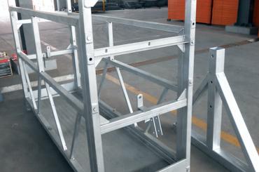 hohe Sicherheit Seil ausgesetzt Plattformaufzüge Installationsplattform zlp630 zlp800 zlp1000
