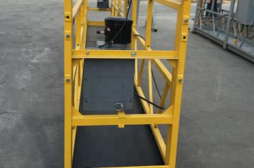 7.5m vorübergehend ausgesetzt Drahtseil Plattform für den Bau